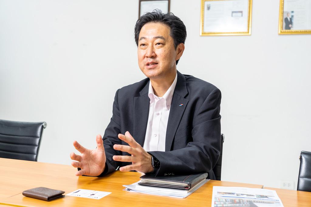 佐藤宏樹マネージングダイレクター