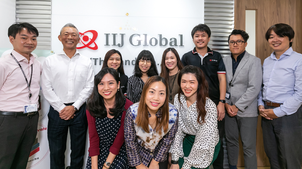 事業拡大と人員増強のため、2018年7月に現オフィスに移転。日タイ総勢20名のスタッフが一丸となって、より充実したカスタマーサービスを追求する