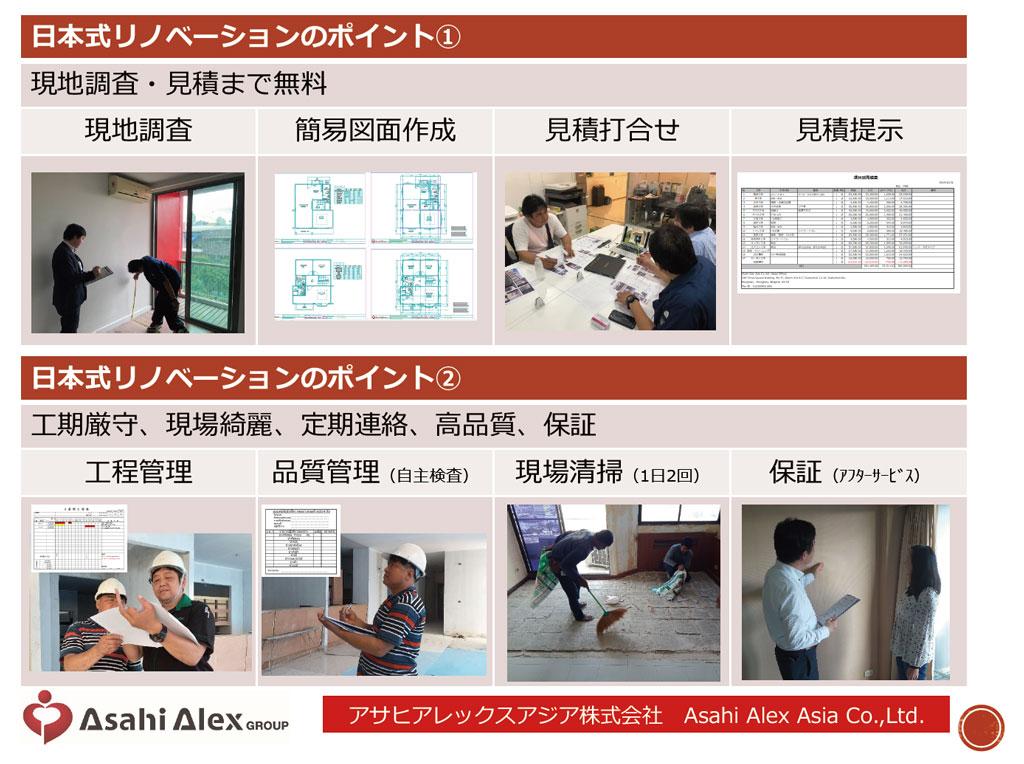 日本式リノベーション ASAHI ALEX ASIA CO., LTD.