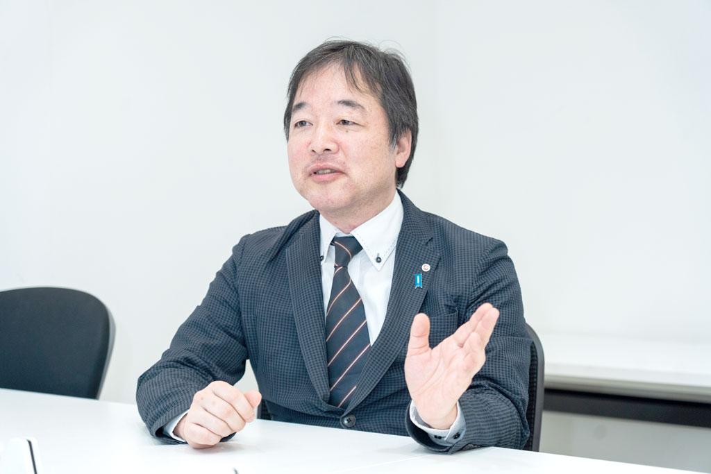 「まずは水回りから、アジアのクオリティ・オブ・ライフ(QOL)の向上に貢献できれば」と意気込む松本GM