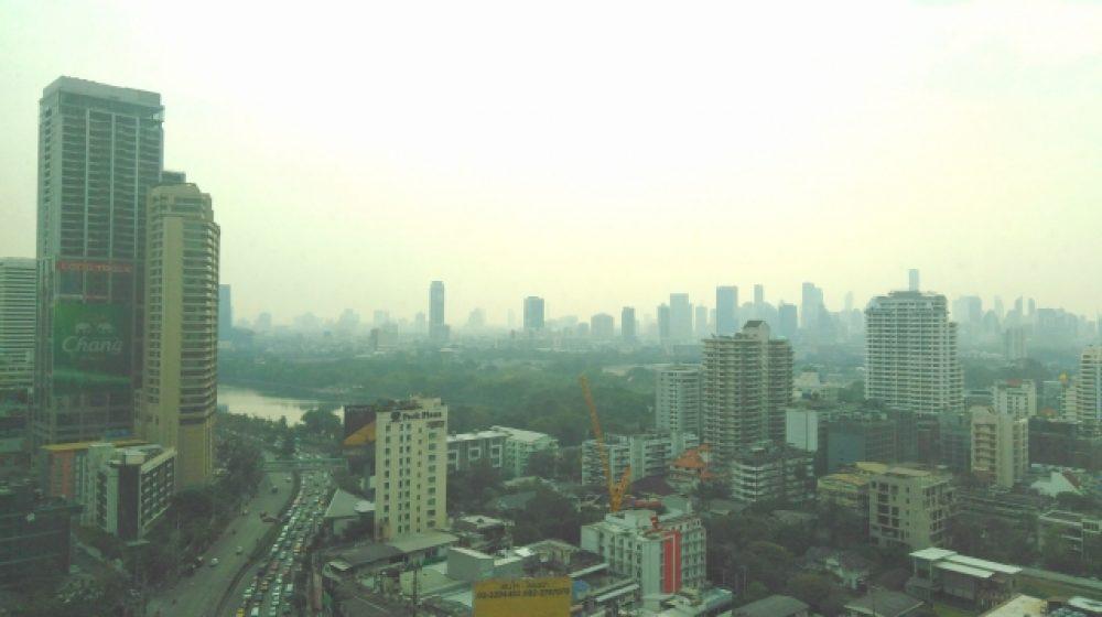バンコク近郊でPM2.5などの濃度が上昇