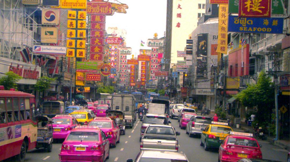 6日、タイ中友好イベントのため都内一部で通行止め