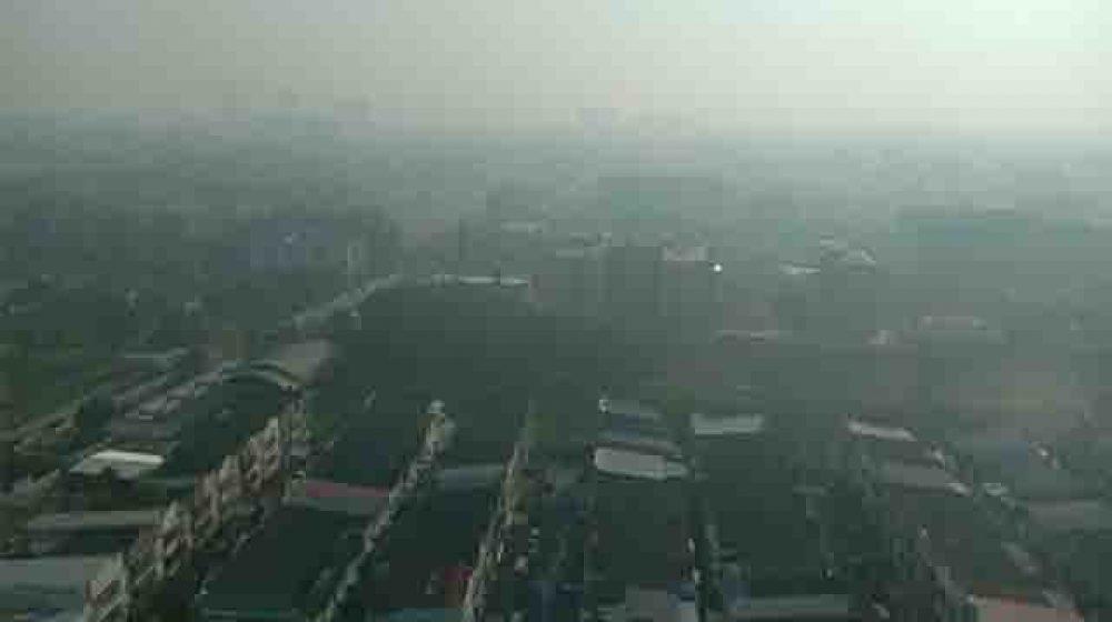 PM2.5悪化で学校に休校許可