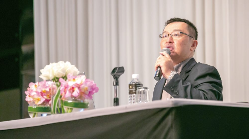 政治学者を招き「第13回バンコク信金会」を開催【バンコク信金会】