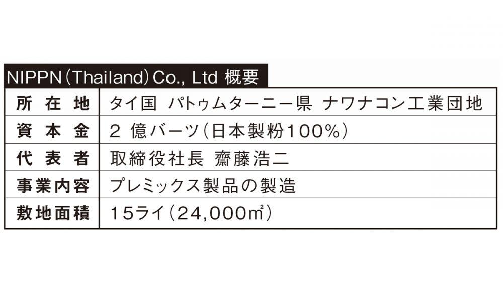 日本製粉グループ ー プレミックスの中国・タイの生産能力を増強