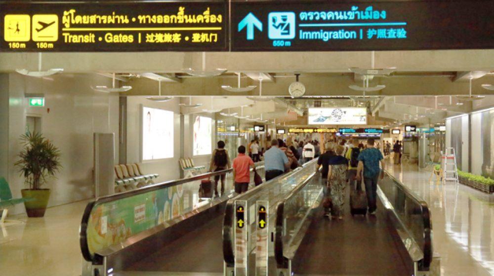タイの空港乗客者数、国際線伸びるも国内線低迷