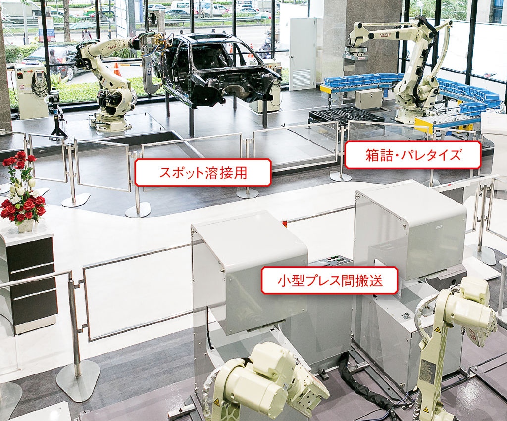 NACHI Robot Technical Center