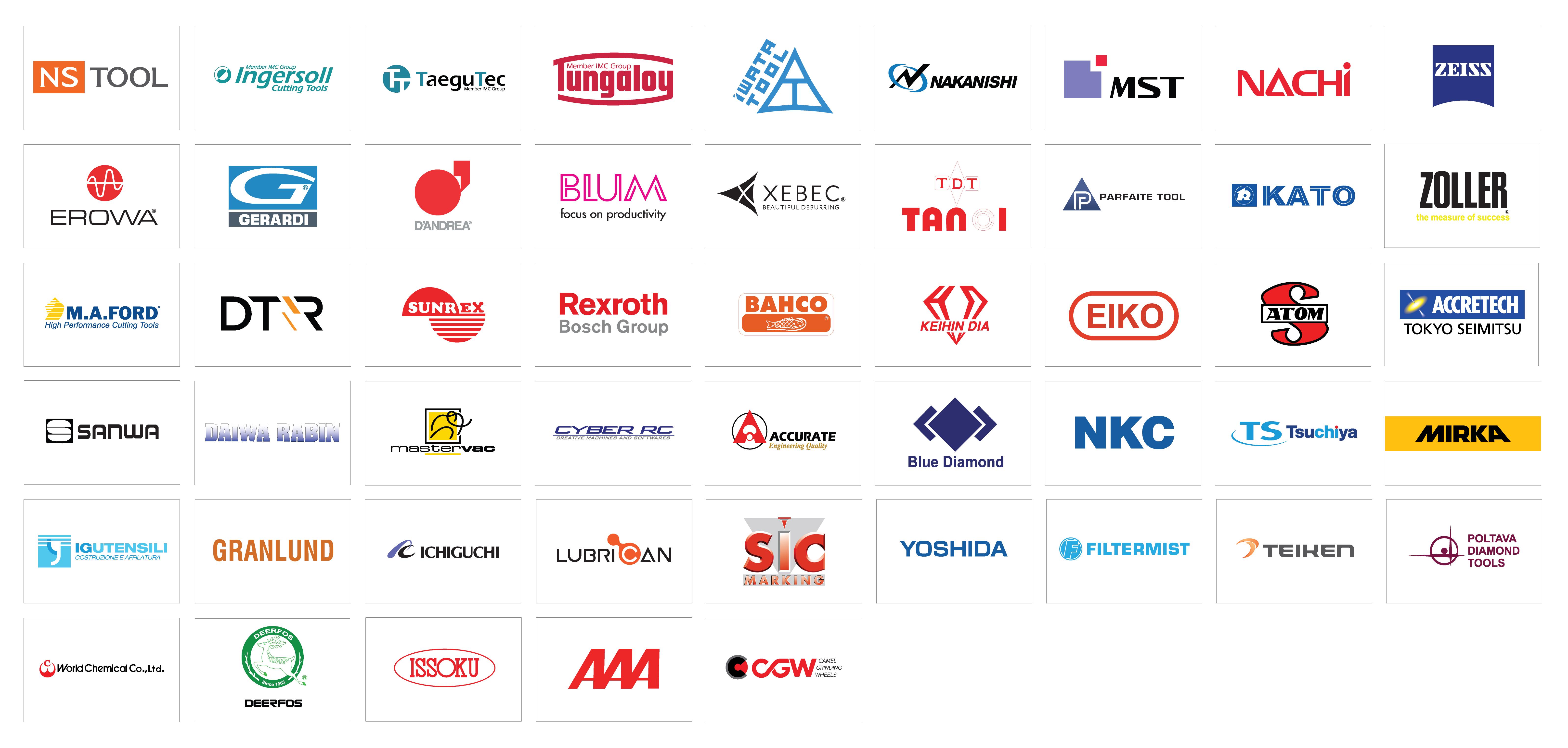 世界トップクラスのブランドを揃える製品群