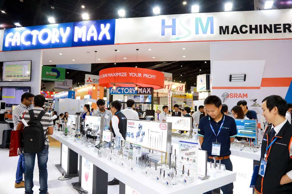 新技術や情報が集まるタイ及びASEAN最大級の祭典「InterMold Thailand」や「METALEX」に出展。自らも情報を発信しつつ、世界の製造業界の最新情報をアップデート。