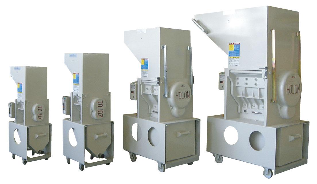 COMPACK - 射出成形工場で排出されるランナーを即時処理する粉砕機です。