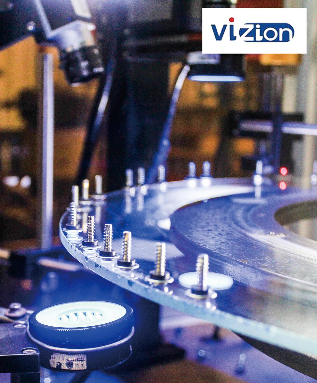 寸法や異常形状など300〜800個/分の検査を実現する高速自動選別機「VIZION」