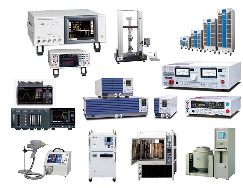製品や素材の耐久力などを測定する試験機器。衝撃、振動、圧縮など、あらゆる種類の測定を可能とする豊富なラインナップが同社の強みだ