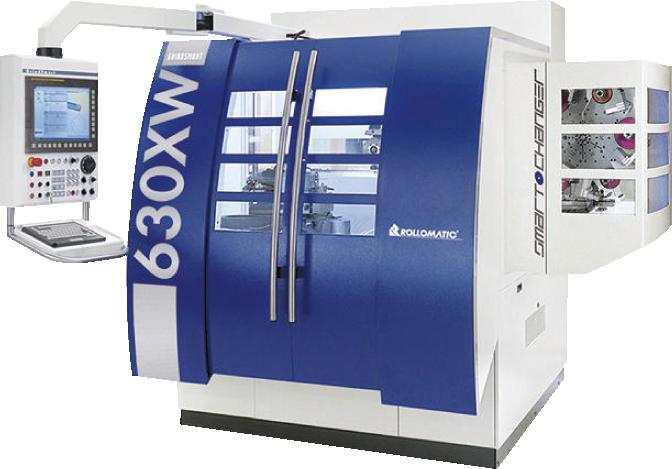 ロロマチック社 CNC6軸工具研削盤630XW