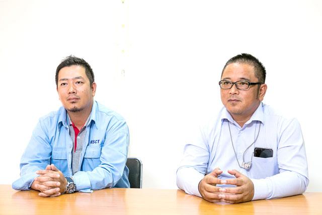 (石)嵜允薫ビジネスディベロップメントマネージャー (左)と不破康介ゼネラルマネージャー
