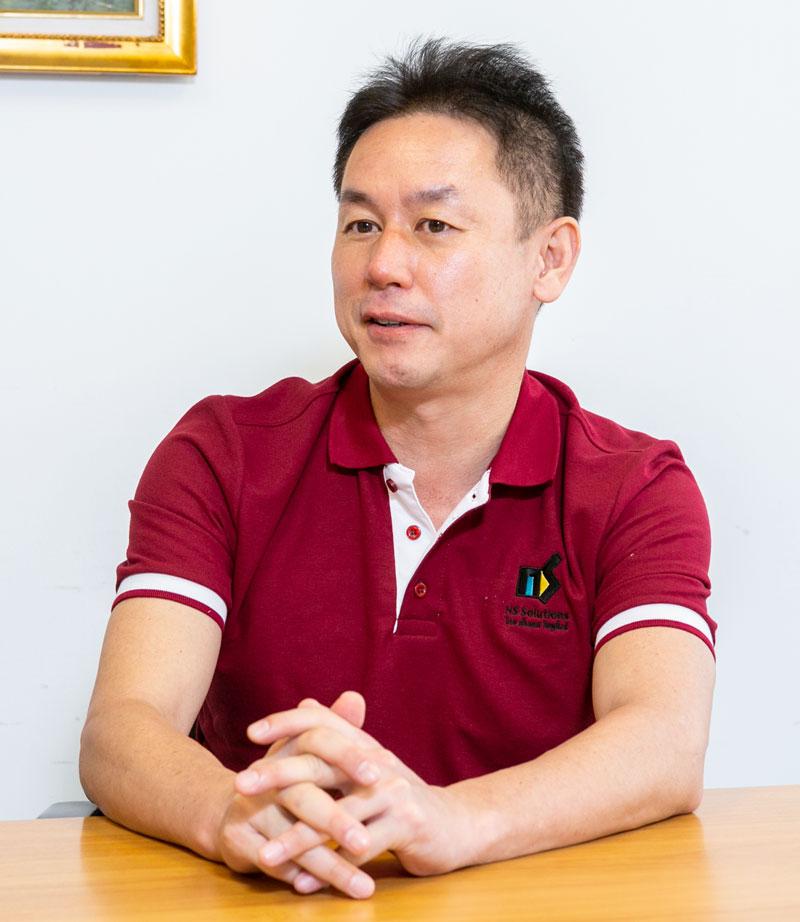 タイ法人設立と共に技術部門責任者として赴任し、2017年から同社のマネージングダイレクター(以下MD)として全体を統轄する久保良一氏