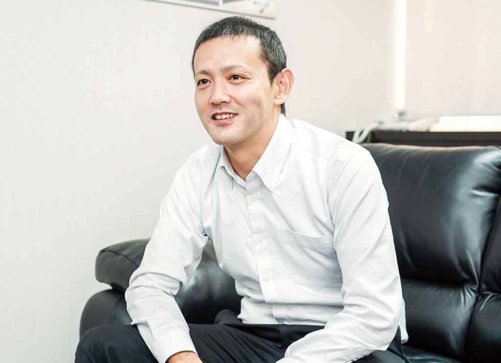2019年10月から同社GMに就任した水上昌紀氏