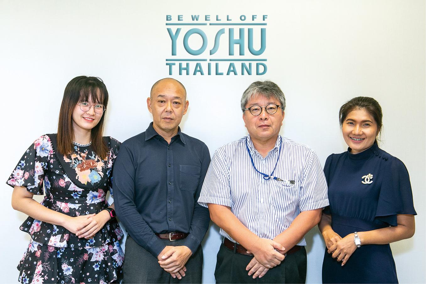 「『アジアのYOSHU』を目標に、お客さまのニーズに柔軟に対応していきます」